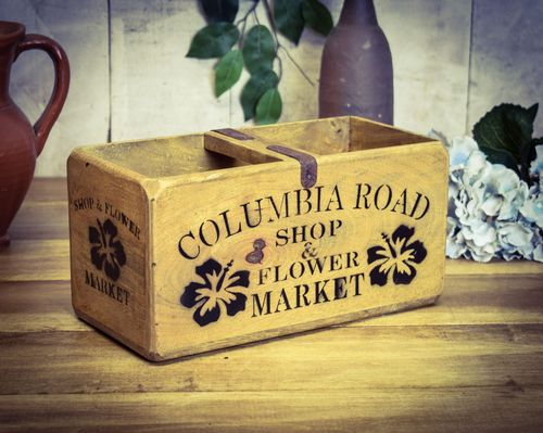Medium Vintage Box Columbia Road Flowers